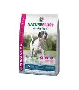 EUKANUBA NATUREPLUS ADULT GRAIN FREE 10KG