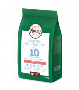 NUTRO GRAIN FREE LIMIT INGREDIENT ADULT MEDIUM SALMON 9,5KG