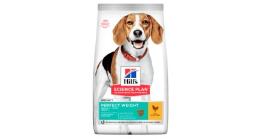 HILLS CANINE PERFECT WEIGHT MEDIUM 10 KG