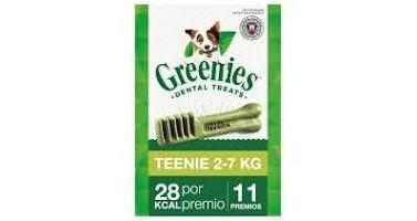 Snack Greenies Teenie 11uds