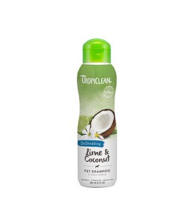 TROPICLEAN SHAMPOO LIME AND COCONUT 355 ML