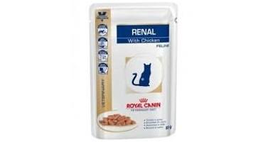 ROYAL CANIN FELINE POUCH RENAL CHICKEN