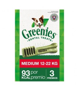 SNACK DENTAL GREENIES MEDIUM 85GR (3uds)