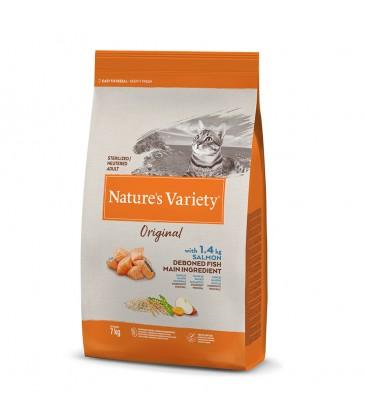 NATURES VARIETY CAT STERILISED SALMON 1,250 KG