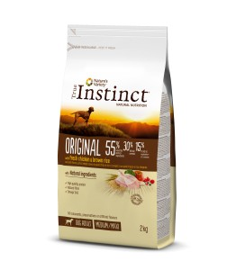 INSTINC ORIGINAL POLLO CON ARROZ INTEGRAL MEDIUM/MAXI – ADULT