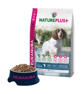 EUKANUBA NATUREPLUS ADULT SALMON RAZA MEDIANA