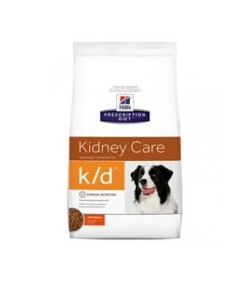 Hills canine k/d enfermedad renal/cardiaca 2kg