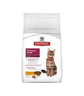 Hill's Science Plan Feline Adult Optimal Care con pollo
