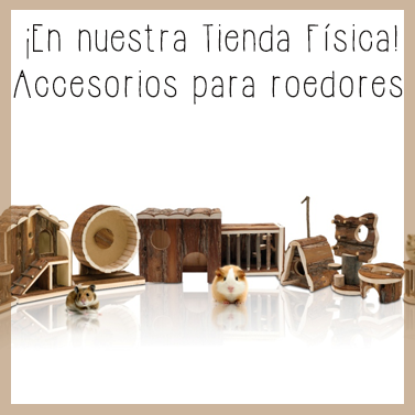 Accesorios roedores tienda física Dinomascota